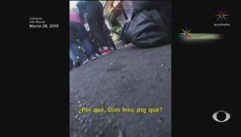 Foto: Motociclista señala a diputado de Morena de atropellarlo
