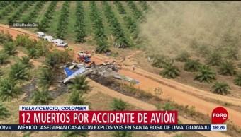FOTO: Mueren 12 personas en accidente aéreo en Colombia, 9 marzo 2019