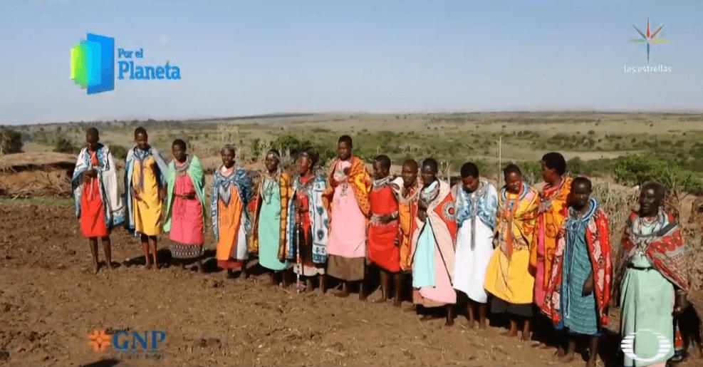 Foto: Mujeres de la comunidad Masái, febrero de 2019, Kenia, África