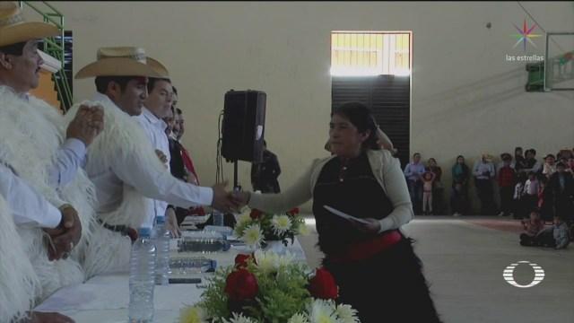 Foto: Mujeres Indígenas Chiapas Alfabetización 14 de Marzo 2019