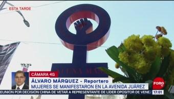 FOTO:Mujeres se manifiestan contra feminicidios y secuestros en México, 24 Marzo 2019