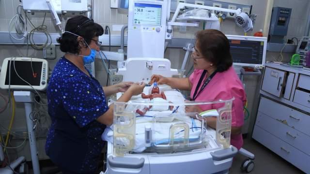 FOTO Nacen quintillizos en hospital del IMSS CDMX (Instituto Mexicano del Seguro Social 21 marzo 2019)