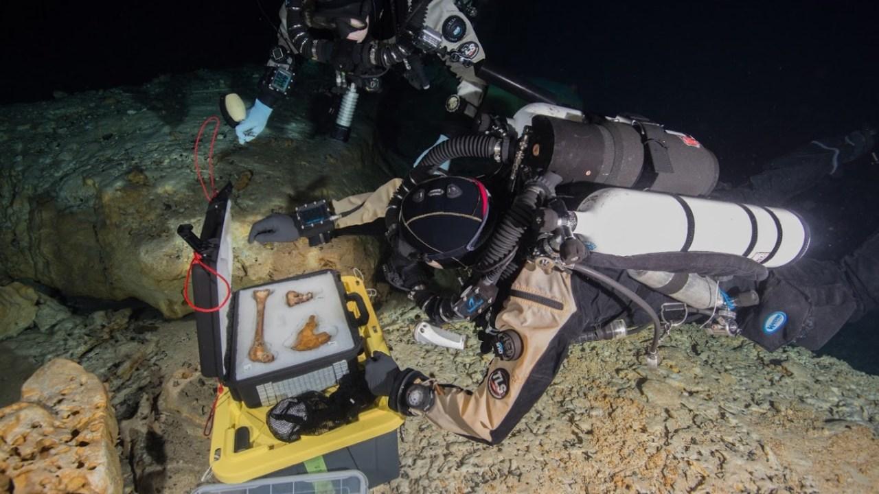 Proyecto arqueológico 'Hoyo Negro' revela cómo sobrevivieron y extrajeron los restos óseos de 'Naia'