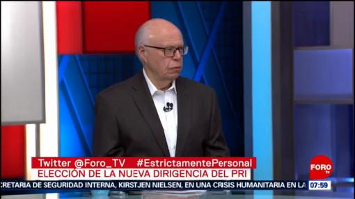 Narro Robles participará en la elección de la nueva dirigencia del PRI