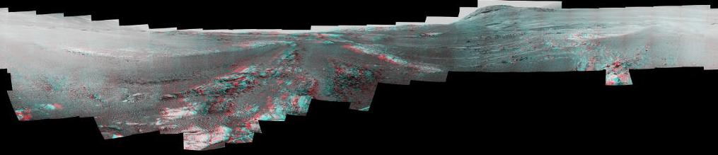 FOTO NASA difunde la última vista panorámica de Marte, tomada por el robot explorador Opportunity 12 marzo 2019 marte