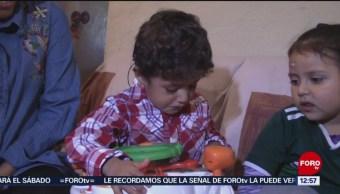 Foto: Niño escucha por primera vez, gracias a implante coclear