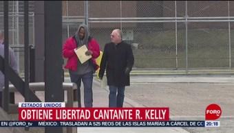 FOTO: Obtiene libertad cantante R. Kelly en Estados Unidos, 9 marzo 2019