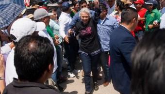 Olga sánchez Cordero marcha en el Día Internacional de la Mujer, Cuartoscuro, 8 de marzo de 2019