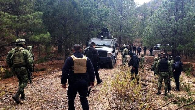 Foto: Operativo de seguridad en Chihuahua, 13 de marzo 2019. Twitter @ComSocChih