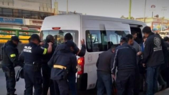 FOTO: Detienen a 57 personas en operativo rastrillo en Ixtapaluca y La Paz, el 16 de febrero de 2020