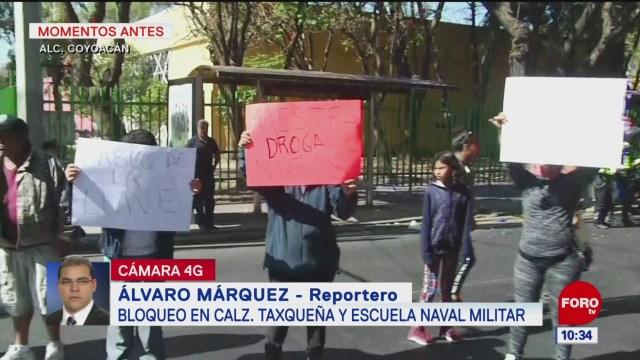 Padres de familia denuncian presencia de drogas en escuela de Coyoacán