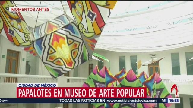 FOTO: Papalotes en Museo de Arte Popular en CDMX, 3 marzo 2019