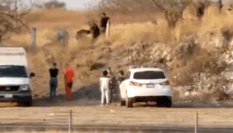 Foto dos personas mueren falla paracaídas Morelos 25 abril 2019