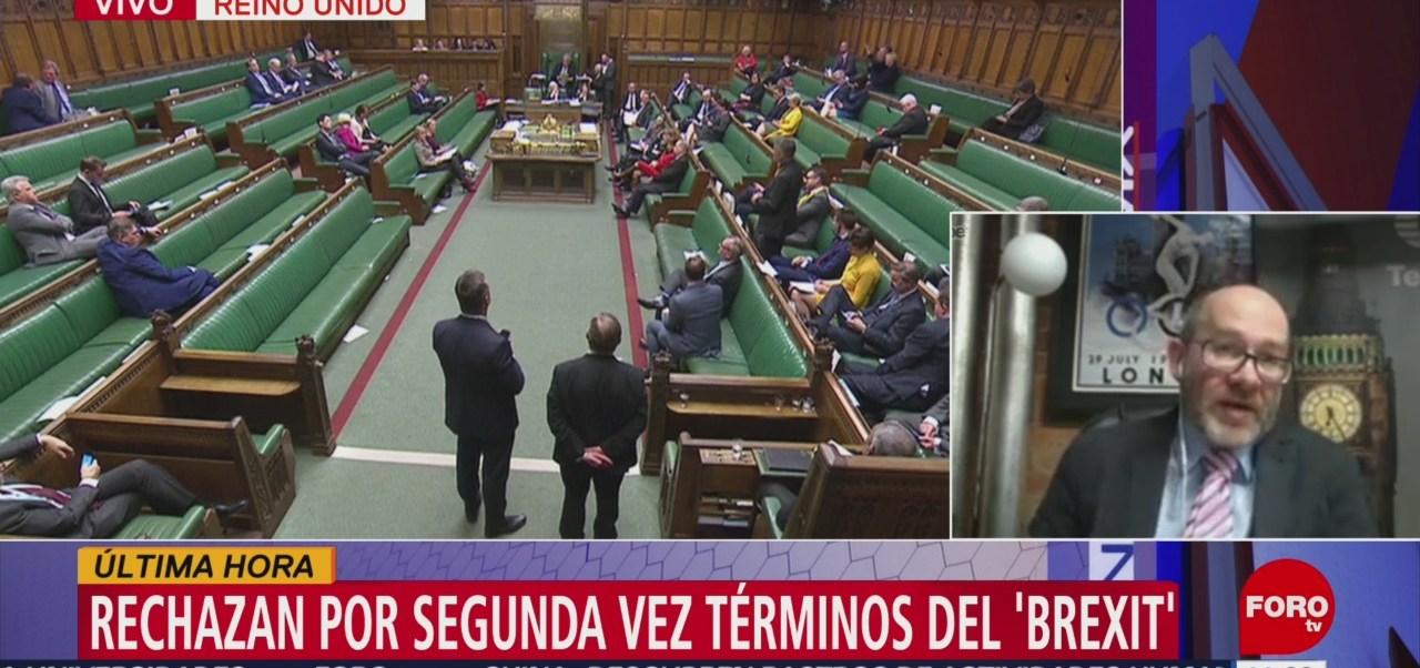 Parlamento británico rechaza nuevamente términos del Brexit