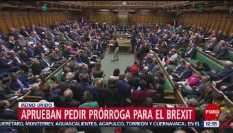 Parlamento de Reino Unido vota a favor de retrasar fecha del Brexit