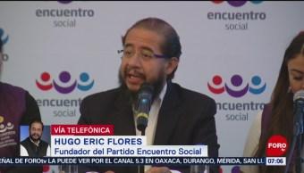 Partido Encuentro Social pierde su registro