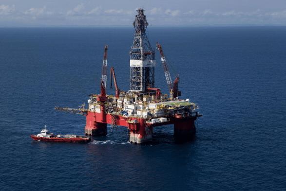 Foto: Plataforma petrolera de Pemex en Veracruz, 30 de agosto de 2013, México