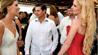 Foto Peña Nieto aparece en público con su novia Tania Ruiz. 22 marzo 2019