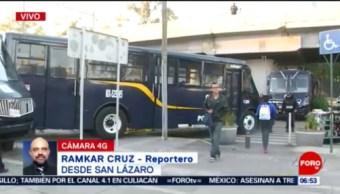 Policías CDMX vigilan Cámara de Diputados; se prevé plantón de la CNTE