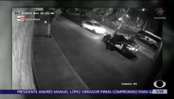 Policías enfrentan a asaltantes en Iztapalapa, CDMX
