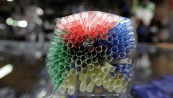 Foto: Popotes de plástico, 22 de noviembre de 2018, Francia