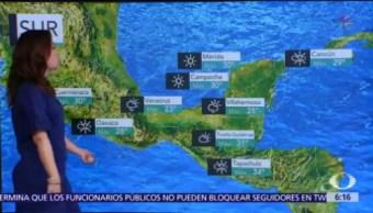 Prevén lluvias de diferente intensidad en México