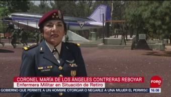 FOTO: Primera mujer paracaidista en el Ejército Mexicano, 8 MARZO 2019