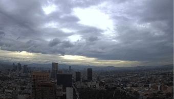 Foto: Cielo nublado en la Ciudad de México