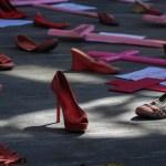 Foto: Protesta de mujeres y madres víctimas cuyas hijas fueron víctimas de feminicidio en México, marzo 5 de 2019 (Cuartoscuro)