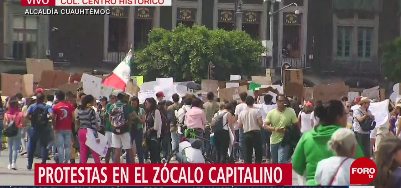 Foto: Protestan contra el cambio climático