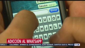 Provoca alarma la adicción al WhatsApp