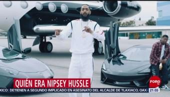 FOTO: Quién era el rapero Nipsey Hussle, 31 Marzo 2019
