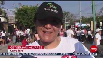 FOTO: Realizan carrera con motivo del Día Internacional de la Mujer en Iguala, Guerrero, 10 marzo 2019