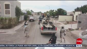 FOTO: Refuerzan seguridad en Sonora, 18 marzo 2019