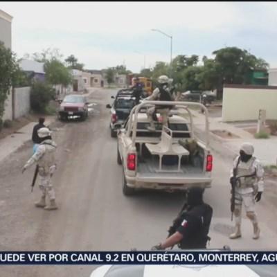 Refuerzan seguridad en Sonora