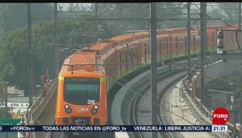 Foto: Fallas Metro CDMX 15 de Marzo 2019