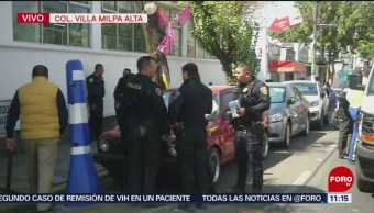 Rescatan a cuatro personas de ser linchadas en Milpa Alta, CDMX