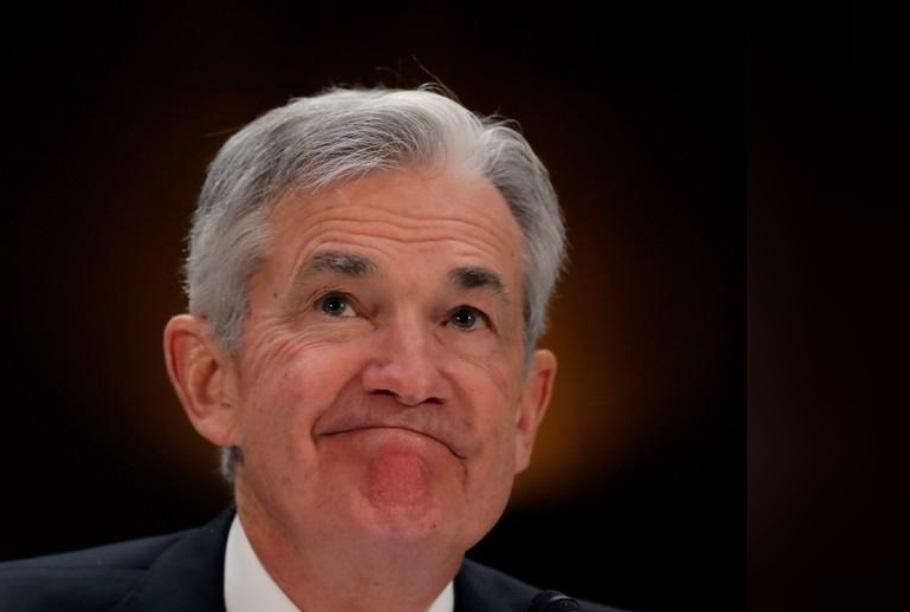 Foto: El presidente de la Reserva Federal de Estados Unidos, Jerome Powell, durante una comparecencia en el Congreso en Washington, 26 de febrero de 2019 (Reuters)