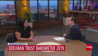 FOTO:Resultados del 'Edelman Trust Barometer 2019', 24 Marzo 2019