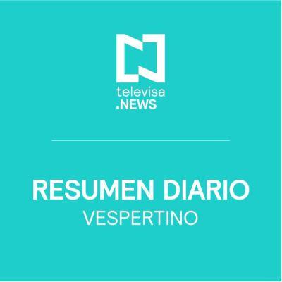Foto: Noticias Destacadas Noche Noticieros Televisa 5 Abril 2019