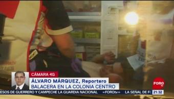 FOTO: Riña con arma de fuego deja 2 heridos cerca de Tepito, 2 marzo 2019