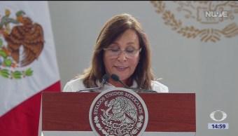 FOTO:Rocío Nahle anuncia entrega de carta de licitación para refinería, 18 marzo 2019