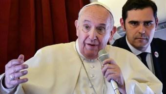 'Se necesitan puentes, no muros', dice Papa Francisco sobre fronteras