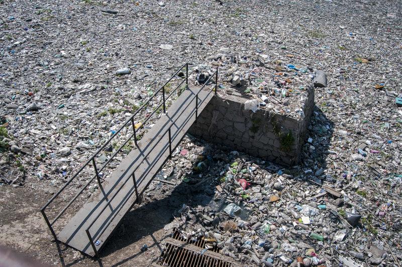 presa becerra de las mas afectadas por acumulacion de basura en cdmx