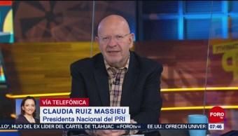 Ruiz Massieu dice que militancia debe volver a decisiones en PRI