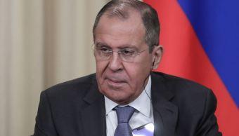 Foto: El ministro de Asuntos Exteriores de Rusia, Serguéi Lavrov, el 1 de marzo de 2019 (Getty Images)