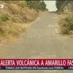 Foto: Rutas de evacuación del Popo son estrechas y obsoletas