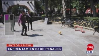 Foto: Salte de la rutina: Enfrentamiento de penales