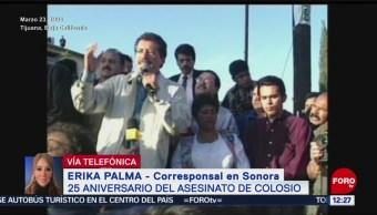 FOTO:Se cumplen 25 años del asesinato de Colosio, 23 Marzo 2019