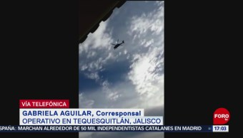 FOTO: Se mantiene operativo en Tequesquitlán, Jalisco, 16 marzo 2019